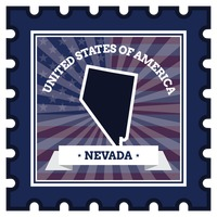 Nevada postage stamp