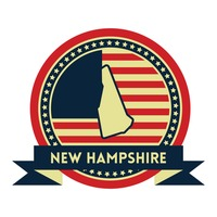 New hampshire map label