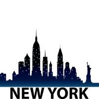 new york skyline silhouette vector image 1515495 stockunlimited rh stockunlimited com New York City Skyline Graphic new york city skyline clipart
