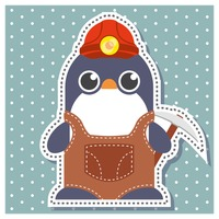 Penguin as a miner