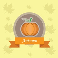 Popular : Pumpkin label
