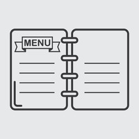 Popular : Restaurant menu card