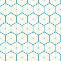 Popular : Seamless hexagon pattern