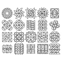 Popular : Set of abstract icons