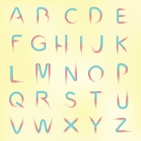 Set of alphabets