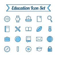 Popular : Set of educational icons