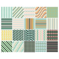 Popular : Set of geometric backgrounds