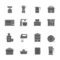 Popular : Set of kitchen icons