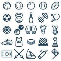 Set of sports icons