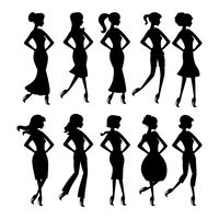 Silhouette of women collection