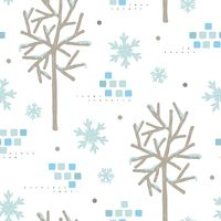 Popular : Snowflake background design
