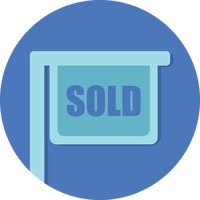 Sold board sign