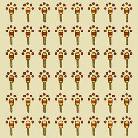 Spain maracas pattern background
