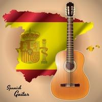 Spanish Guitar Vectors Stock Clipart