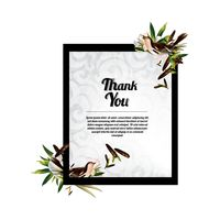 Popular : Thank you card