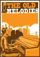 The old melodies poster design