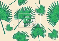 Tropical seamless background