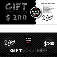 Two gift vouchers