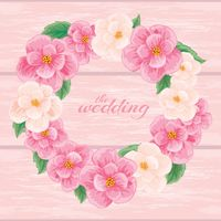 Wedding template design