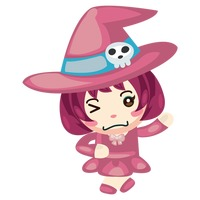 Witch winking