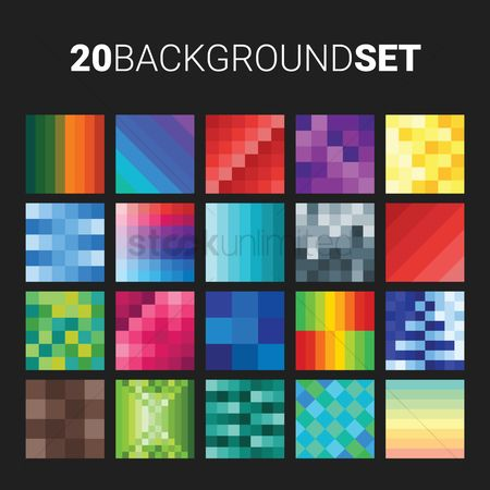 Geometrics : 20 background set