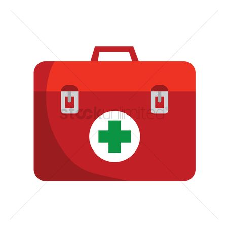 Medicines : A box of first aid kit