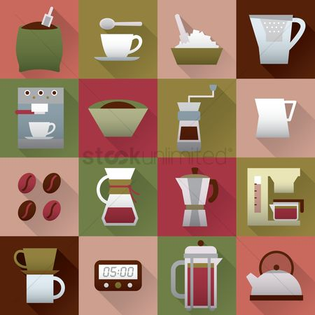 Jug : A collection of coffee items