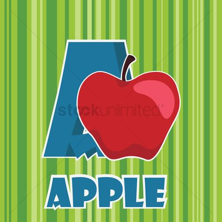 Nutritions : A for apple