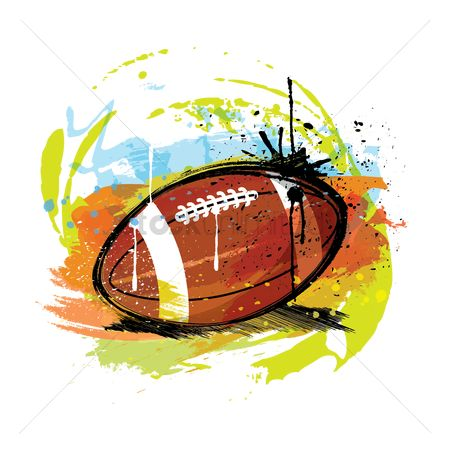 Sports : Abstract american football
