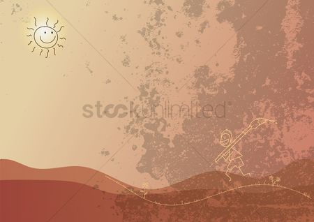 Imaginations : Abstract background design