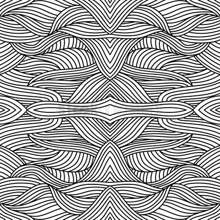 Zig zag : Abstract background