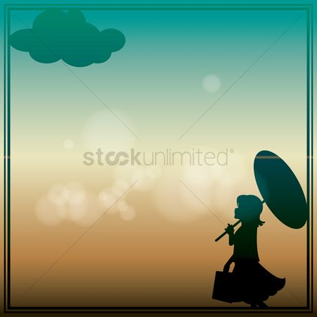 Umbrella : Abstract background