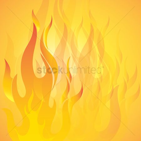 Fire : Abstract fire background