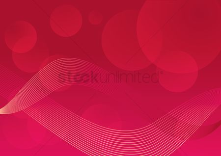 Blocks : Abstract geometric background with red cubes
