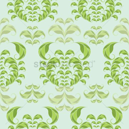 Crabs : Abstract leaves background design