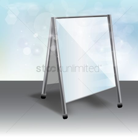 Billboards : Advertising stand