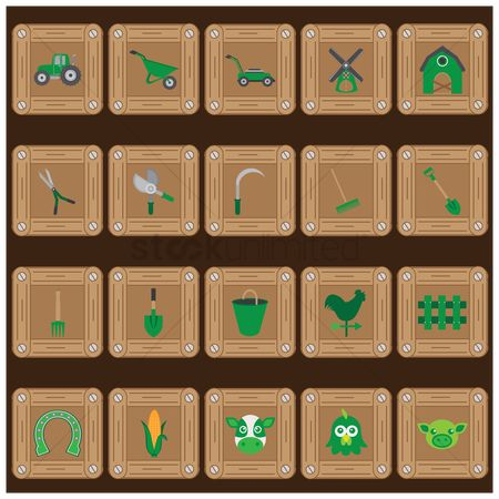 Spade : Agriculture icons