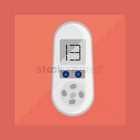 Conditioning : Air conditioner remote control