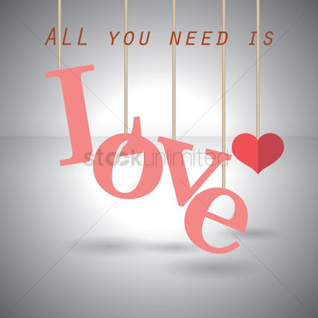 Romance : All you need is love