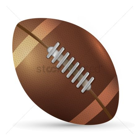 Rugby ball : American football ball