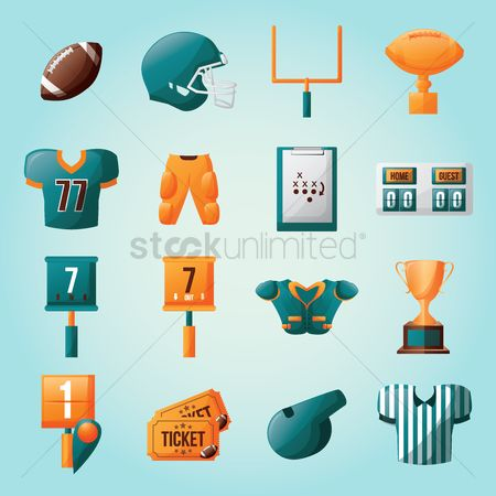 Pad : American football collection