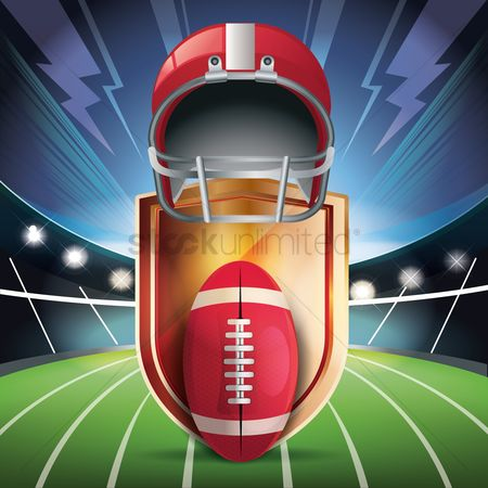 Sports : American football equipment