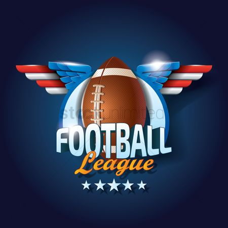 Footballs : American football league wallpaper