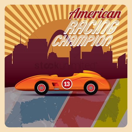 Race : American racing champion