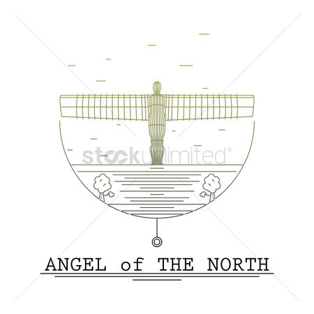 Sculpture : Angel of the north