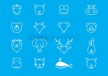 Cow : Animal faces icon