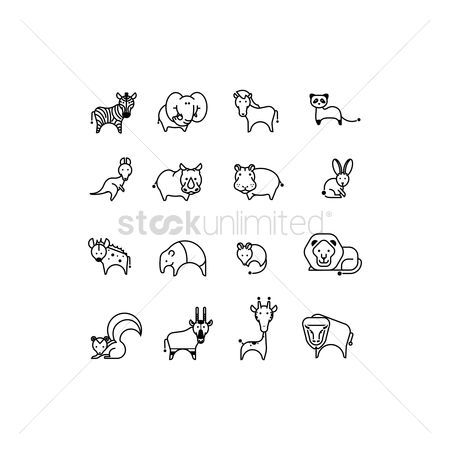 Bull : Animal icon pack