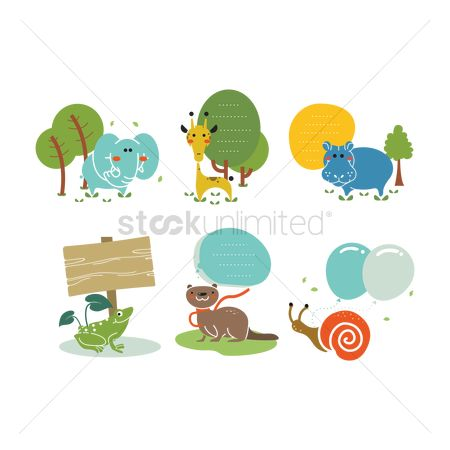 Huge : Animals in nature icon pack