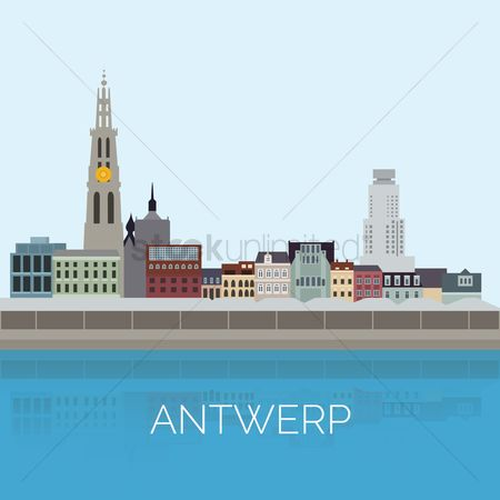 Monuments : Antwerp