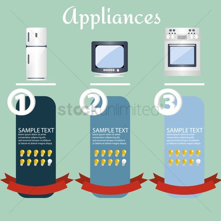 Stove : Appliances infographic